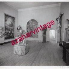 Fotografía antigua: VALLADOLID, 1933, MUSEO NACIONAL DE ESCULTURA, FOT.GARAY, RARA, 230X175MM. Lote 180090050