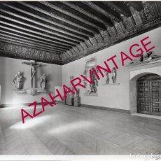 Fotografía antigua: VALLADOLID, 1933, MUSEO NACIONAL DE ESCULTURA, FOT.GARAY, RARA, 230X175MM. Lote 180093147