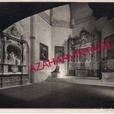 Fotografía antigua: VALLADOLID, 1933, MUSEO NACIONAL DE ESCULTURA, FOT.GARAY, RARA, 210X170MM. Lote 180094623