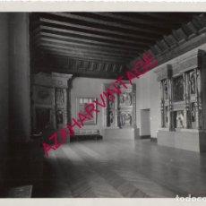 Fotografía antigua: VALLADOLID, 1933, MUSEO NACIONAL DE ESCULTURA, FOT.GARAY, RARA, 230X175MM. Lote 180094912