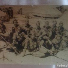 Fotografía antigua: CAMPAMENTO EL GOLOSO.. Lote 180133696