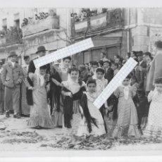 Fotografía antigua: CAUDETE ( ALBACETE ) - FIESTAS DE LA PALOMA - FOTOGRAFÍA ORIGINAL - AÑO 1951 - MEDIDAS; 24 X 18 CMS.. Lote 180139400