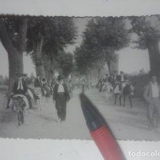 Fotografía antigua: ROMERÍA DE LA YEDRA ( BAEZA, JAÉN ) ANTIGUA FOTOGRAFÍA - BANDA DE MÚSICA - CRISTÓBAL CRUZ, FOTÓGRAFO. Lote 180206287