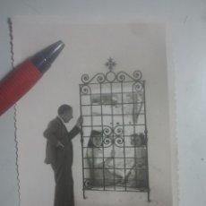 Fotografía antigua: ANTIGUA FOTOGRAFÍA DE CRISTÓBAL CRUZ ( BAEZA, JAÉN ) FOTÓGRAFO. Lote 180208305