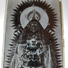 Fotografía antigua: ALCALA DE GUADAIRA SEVILLA NTRA SRA DEL AGUILA ANTIGUO CLICHE NEGATIVO EN CRISTAL. Lote 180208661