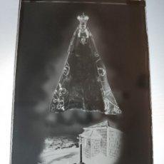 Fotografía antigua: FERROL PONTEVEDRA SRA DEL CHAMORRO ANTIGUO CLICHE NEGATIVO EN CRISTAL. Lote 180209347