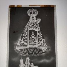 Fotografía antigua: ORENSE SRA DE LOS MILAGROS ANTIGUO CLICHE NEGATIVO EN CRISTAL. Lote 180209451