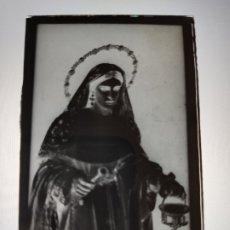 Fotografía antigua: SEVILLA SANTA MARTA ANTIGUO CLICHE NEGATIVO EN CRISTAL. Lote 180209805