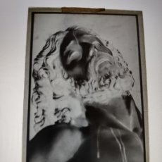 Fotografía antigua: SEVILLA SANTO CRISTO DE SANTA MARTA ANTIGUO CLICHE NEGATIVO EN CRISTAL. Lote 180209915
