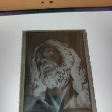 Fotografía antigua: SEVILLA SANTO CRISTO DE LA CARIDAD SANTA MARTA ANTIGUO CLICHE NEGATIVO EN CRISTAL. Lote 180210010