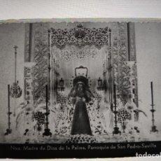 Fotografía antigua: SEVILLA MADRE DIOS DE LA PALMA ANTIGUO CLICHE NEGATIVO EN CRISTAL. Lote 180210230