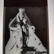 Fotografía antigua: DOS HERMANAS SEVILLA NTRA SRA DE VALME ANTIGUO CLICHE NEGATIVO EN CRISTAL. Lote 180210282
