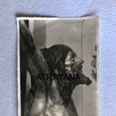 Fotografía antigua: SEMANA SANTA SEVILLA. CRISTO DE LA EXPIRACIÓN, EL CACHORRO. 11,5 X 17 CM.. Lote 180402616