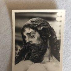 Fotografía antigua: SEMANA SANTA SEVILLA. CRISTO DE LA BUENA MUERTE, LOS ESTUDIANTES. FOTO: SERRANO.. Lote 180404400