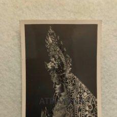 Fotografía antigua: SEMANA SANTA SEVILLA. VIRGEN DEL PATROCINIO, EL CACHORRO. FOTO: SERRANO.. Lote 180406362