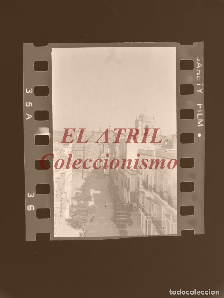 TARIFA, CADIZ - 17 CLICHES ORIGINALES, AÑOS 1940-50 - 35 MILIMETROS, VER FOTOS ADICIONALES (Fotografía Antigua - Fotomecánica)