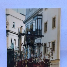 Fotografía antigua: SEMANA SANTA SEVILLA. CRISTO DE LA SALUD, SAN BERNARDO. AÑOS 80. 15 X 20 CM.. Lote 180949333