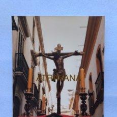 Fotografía antigua: SEMANA SANTA SEVILLA. CRISTO DE BURGOS. AÑOS 80. 15 X 20 CM.. Lote 180949992