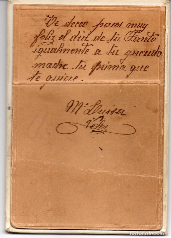 Fotografía antigua: SEVILLA, ANTIQUISIMA FOTOGRAFIA DE LA DIVINA PASTORA DE CAPUCHINOS, 100X145MM - Foto 2 - 181519086