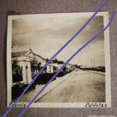 Fotografía antigua: FOTOGRAFÍA ANTIGUA DE CALDETAS. BARCELONA. CALLE. FOTO AÑOS 20.. Lote 181525870