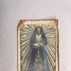 Fotografía antigua: MADRID. RECORDATORIO FOTOGRÁFICO. NUESTRO PADRE JESÚS NAZARENO DE MEDINACELI (H.1940?). Lote 181649871