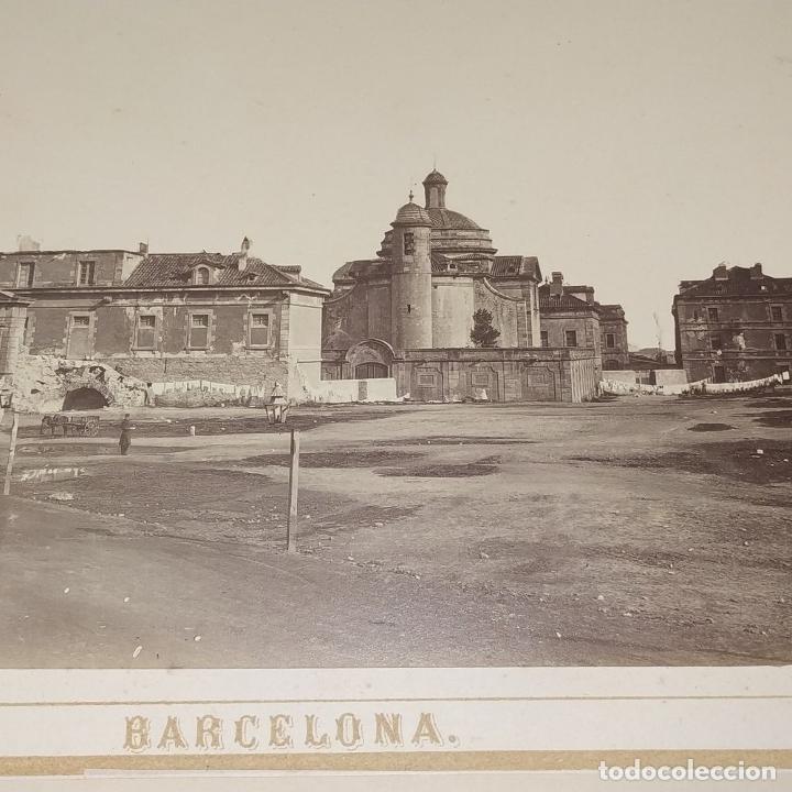 Fotografía antigua: LA CIUDADELA DE BARCELONA. FOTOGRAFÍA. VIVES Y MARTÍ. ESPAÑA. SIGLO XIX - Foto 4 - 181740367