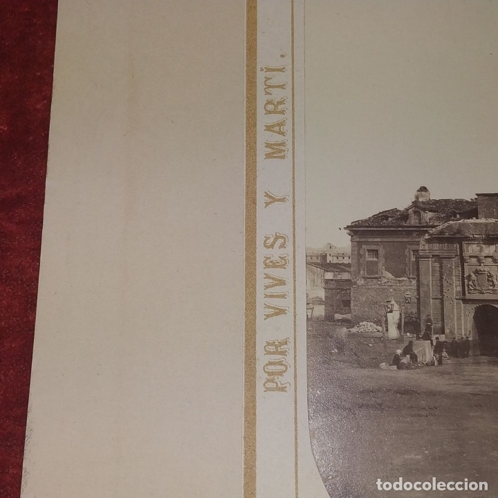 Fotografía antigua: LA CIUDADELA DE BARCELONA. FOTOGRAFÍA. VIVES Y MARTÍ. ESPAÑA. SIGLO XIX - Foto 6 - 181740367