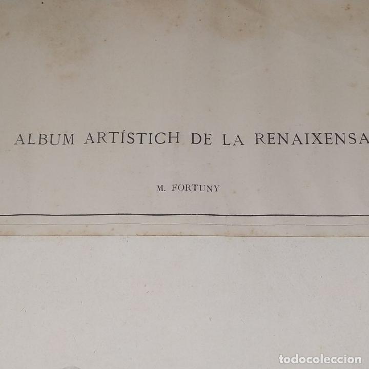 Fotografía antigua: LA BATALLA DE TETUAN. REPRODUCCIÓN FOTOGRAFICA DE LA PINTURA DE FORTUNY. ESPAÑA. XIX - Foto 3 - 181743468