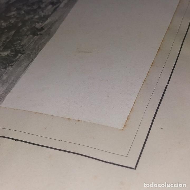 Fotografía antigua: LA BATALLA DE TETUAN. REPRODUCCIÓN FOTOGRAFICA DE LA PINTURA DE FORTUNY. ESPAÑA. XIX - Foto 6 - 181743468