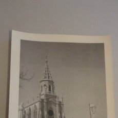 Fotografía antigua: ANTIGUA FOTOGRAFIA.SANTUARIO REGLA.CHIPIONA AÑOS 60. Lote 181868418