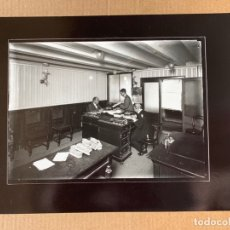 Fotografía antigua: FOTO ARCHIVO IEFC INTERIOR FABRICA CEPILLOS, ALEJANDRO MERLETTI A-0008. Lote 182162505