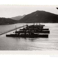 Fotografía antigua: CARTAGENA.(MURCIA). LA ESCUADRA EN EL PUERTO. 1935. MEDIDAS.13X17,5.. Lote 182612928