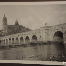 Fotografía antigua: ANTIGUA FOTOGRAFIA VISTA DE SALAMANCA.FOTO GONZALO.AÑOS 60. Lote 183007822