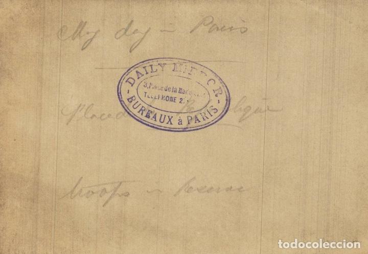 Fotografía antigua: TROOPS AT PARIS FRANCE 16*12CM Fonds Victor FORBIN 1864-1947 - Foto 2 - 195171917