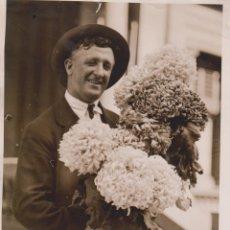 Fotografía antigua: GIANT CHRYSANTHEMUMS BOTÁNICA BOTANY BOTANIQUE BOTANIK FONDS VICTOR FORBIN 1864-1947. Lote 183211612