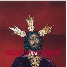 Fotografía antigua: SEMANA SANTA SEVILLA, 1994, NTRO.PADRE JESUS CAUTIVO, SANTA GENOVEVA, 10X15 CMS. Lote 183311872
