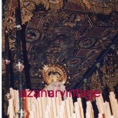 Fotografía antigua: SEMANA SANTA SEVILLA, LA VIRGEN DE LA PALMA, EL BUEN FIN 10X15 CMS. Lote 183311992