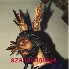 Fotografía antigua: SEMANA SANTA SEVILLA, 1994, NTRO.PADRE JESUS CAUTIVO, SANTA GENOVEVA, 10X15 CMS. Lote 183312116