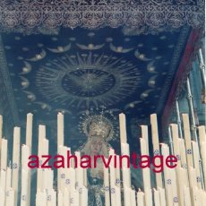 Fotografía antigua: SEMANA SANTA SEVILLA, LA VIRGEN DEL VALLE, 10X15 CMS. Lote 183312838