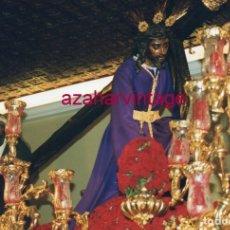 Fotografía antigua: SEMANA SANTA SEVILLA, 1999, NTRO.PADRE JESUS DE LAS TRES CAIDAS, TRIANA, 15X10 CMS. Lote 183313075