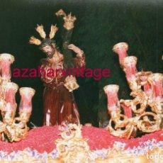 Fotografía antigua: SEMANA SANTA SEVILLA, NTRO.PADRE JESUS DE LA SALUD, LA CANDELARIA, 15X10 CMS. Lote 183322288