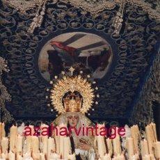 Fotografía antigua: SEMANA SANTA SEVILLA, LA VIRGEN DE LA CANDELARIA, 10X15 CMS. Lote 183322415