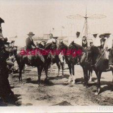 Fotografía antigua: ANTIGUA FOTOGRAFIA , ROMERIA DEL ROCIO, 88X64MM. Lote 183418670