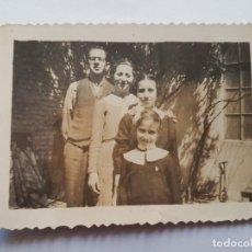 Fotografía antigua: FAMILIA, FAMILY, FAMILLE 1938. Lote 183444775