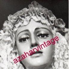 Fotografía antigua: SEMANA SANTA SEVILLA, MAGNIFICA FOTOGRAFIA DE LA VIRGEN DE REGLA, LOS PANADEROS, 125X175MM. Lote 183462552