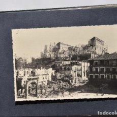 Fotografía antigua: ALCÁZAR DE TOLEDO.- ÁLBUM DE FOTOGRAFÍAS ANTES DURANTE Y DESPUES DE LA GUERRA CIVIL, CADA FOTO 17X12. Lote 183472858