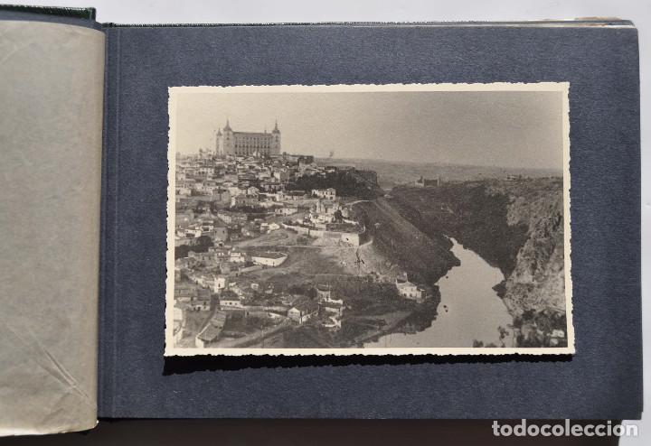 Fotografía antigua: ALCÁZAR DE TOLEDO.- ÁLBUM DE FOTOGRAFÍAS ANTES DURANTE Y DESPUES DE LA GUERRA CIVIL, CADA FOTO 17X12 - Foto 3 - 183472858