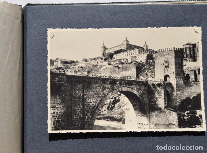 Fotografía antigua: ALCÁZAR DE TOLEDO.- ÁLBUM DE FOTOGRAFÍAS ANTES DURANTE Y DESPUES DE LA GUERRA CIVIL, CADA FOTO 17X12 - Foto 18 - 183472858