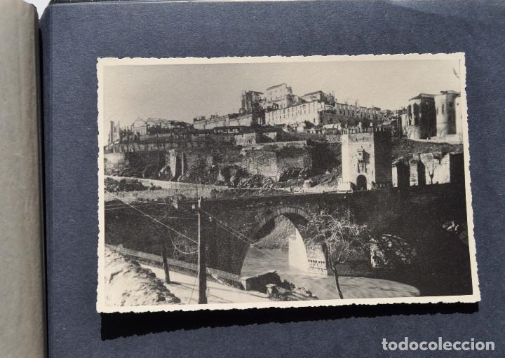 Fotografía antigua: ALCÁZAR DE TOLEDO.- ÁLBUM DE FOTOGRAFÍAS ANTES DURANTE Y DESPUES DE LA GUERRA CIVIL, CADA FOTO 17X12 - Foto 19 - 183472858