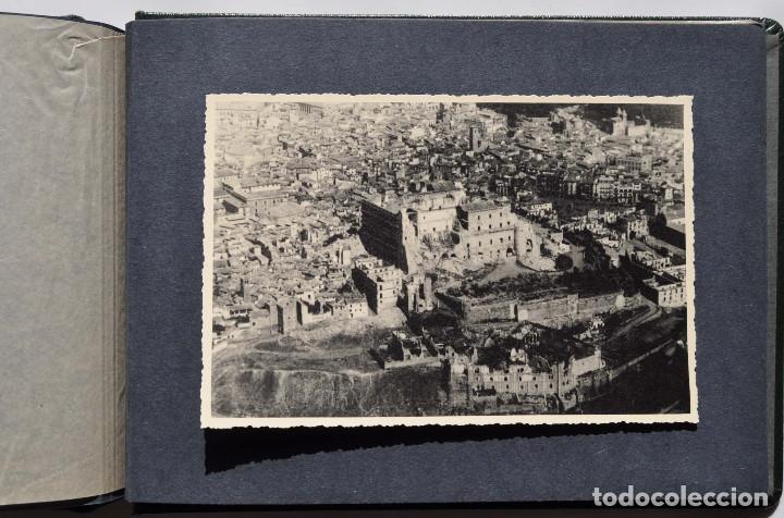 Fotografía antigua: ALCÁZAR DE TOLEDO.- ÁLBUM DE FOTOGRAFÍAS ANTES DURANTE Y DESPUES DE LA GUERRA CIVIL, CADA FOTO 17X12 - Foto 22 - 183472858